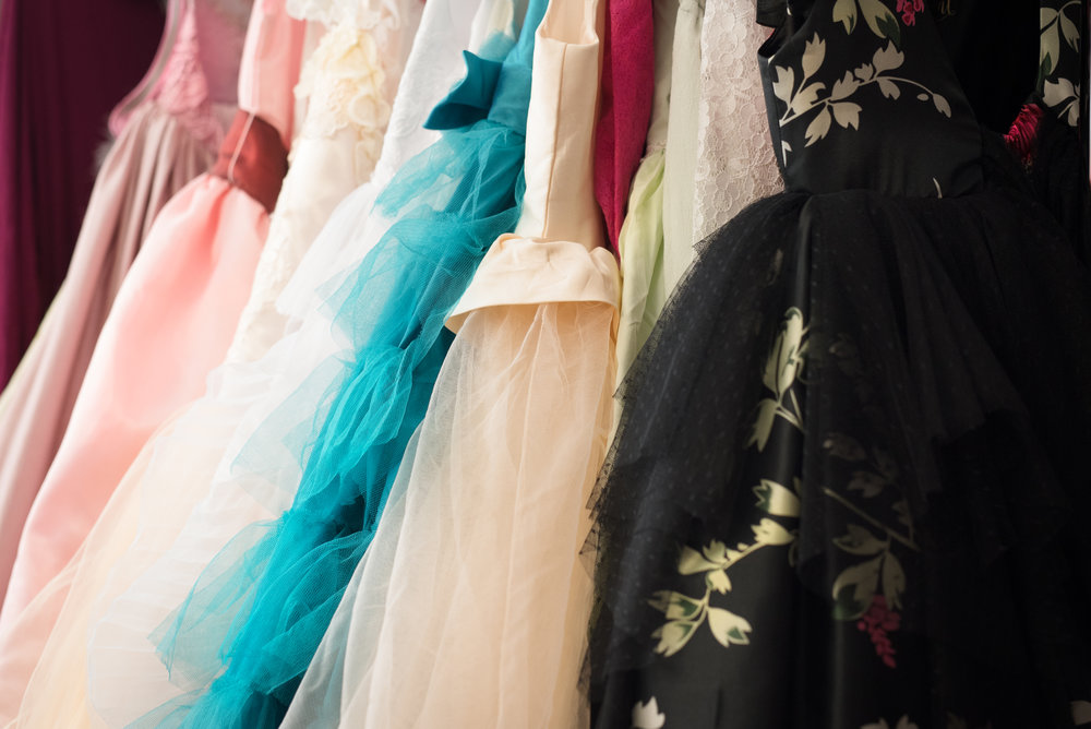 The Dress Collection - I have a collection of girls dresses for my clients use. They range in size from 6 months to teen. When looking at the sizes listed on the dress please remember that a lot of the dresses are stretchy - I've had a 10 year old in a size 6! Let me know if something looks good for your little one!