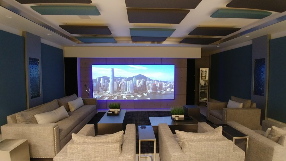 Details matter. A well-designed theatre room will be everyone's favourite room in the house. -