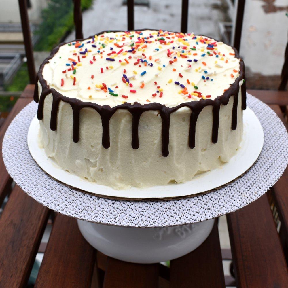 the Ice Cream Sundae Cake