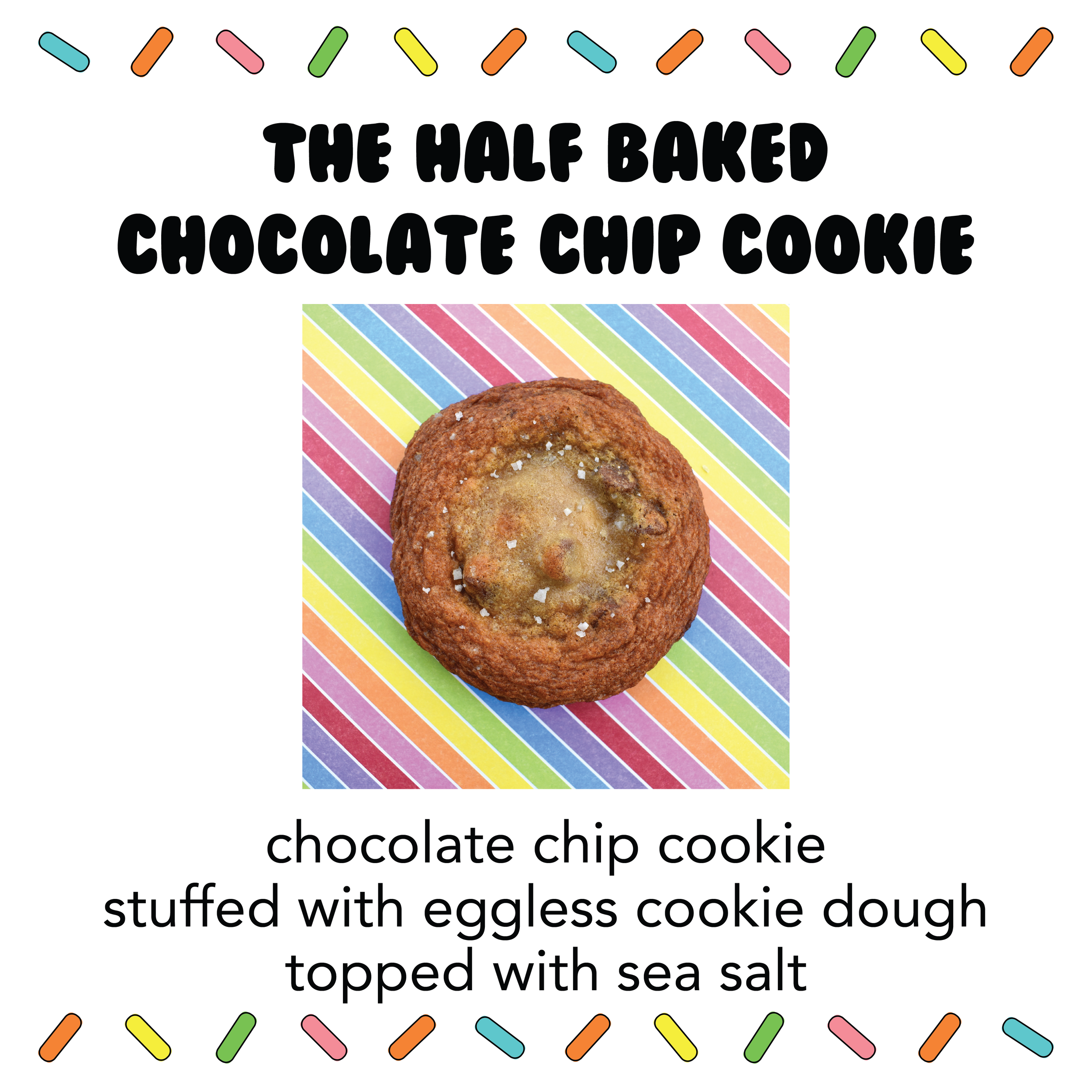 The Half Baked Chocolate Chip Cookie Gracie Baked