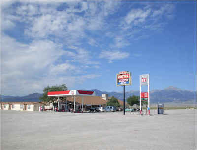Campsites and RV hookups - BORDER INN casino