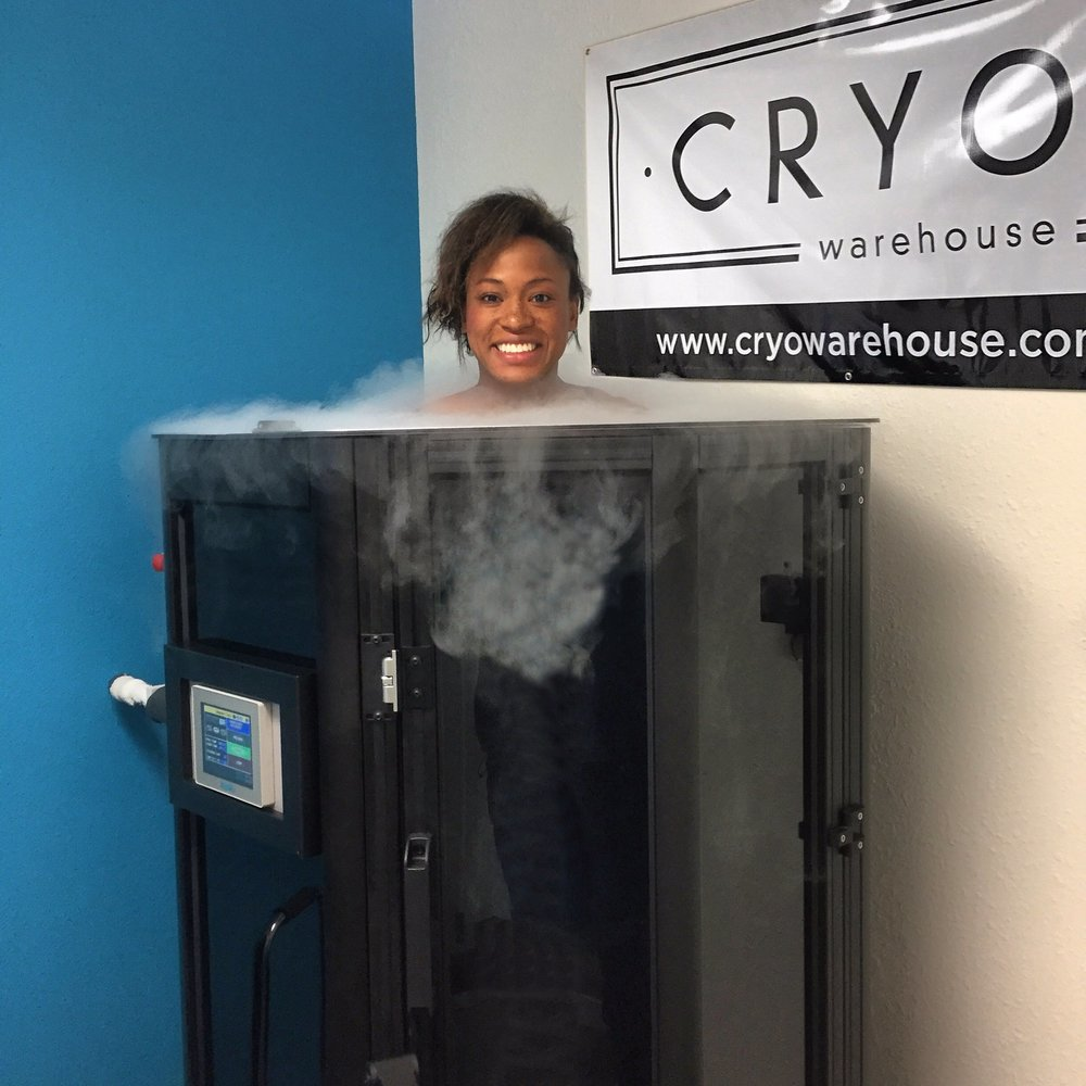 Taking a cryogenic cold soak.