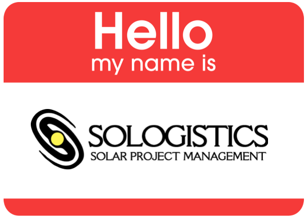My Name is Sologistics
