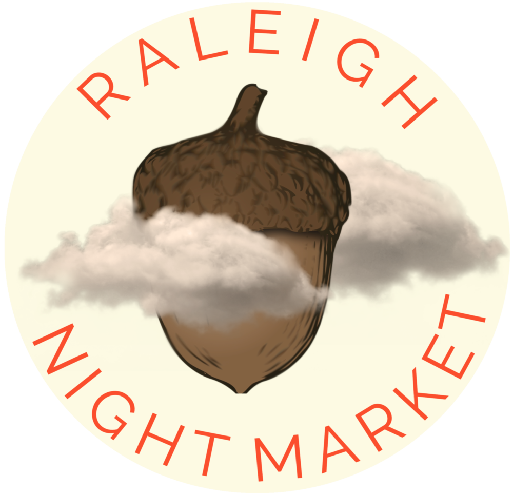 Showcasing Raleigh's creativity under the beautiful lights and cobblestone streets of City Market. -