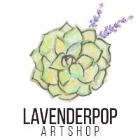 Lavender Pop Art Shop