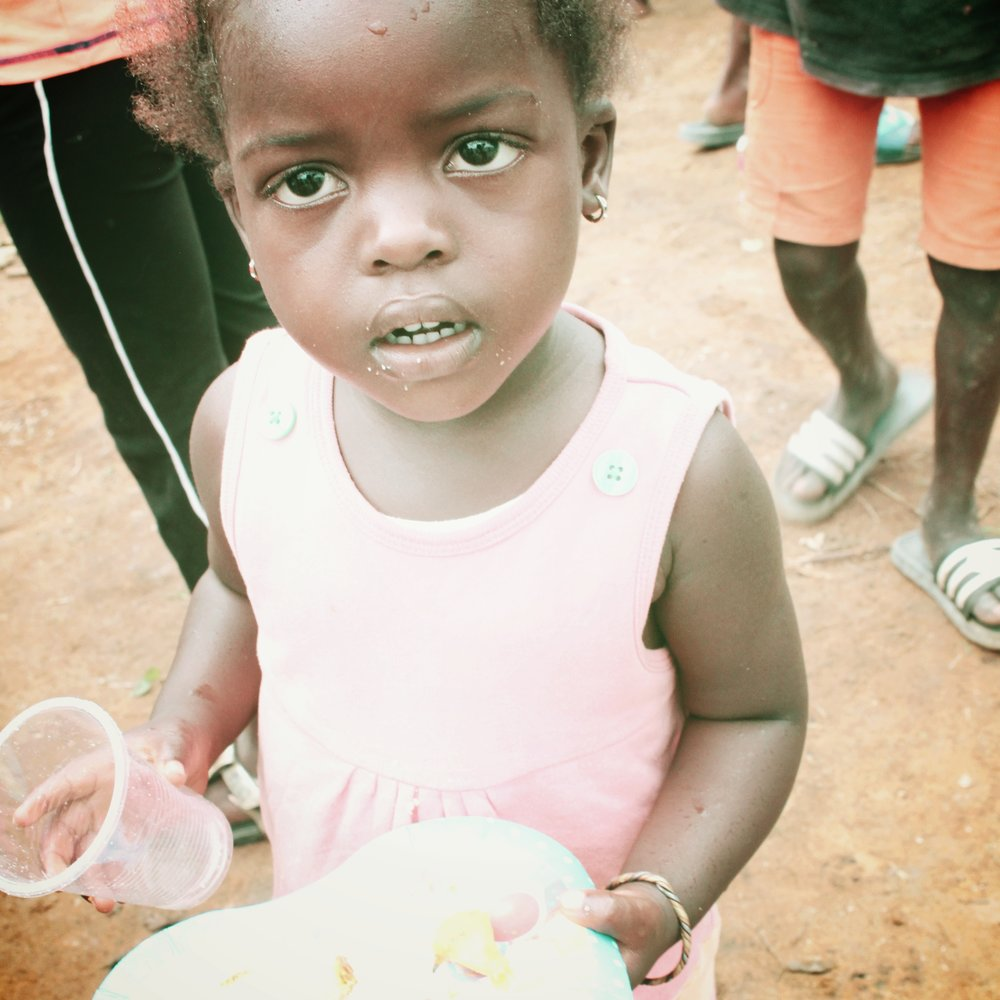 Feed a Child for a Year - Your child will receive 3 meals and snacks per day while at school, as well as a backpack.$287 per child annually