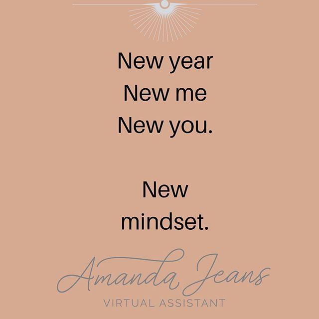 New year, new me, new you. New Mindset. #killinit #nye2019 #newyear #productivity #smm #va #mindset #mindshift #longevity #changethatlasts #bethechange