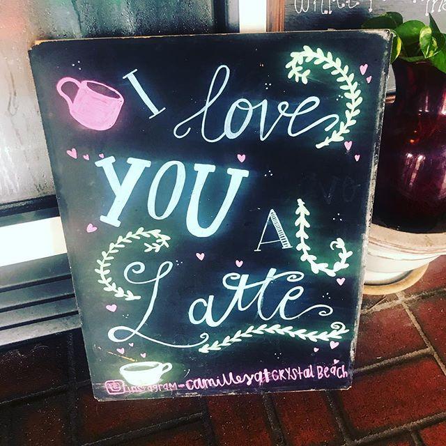 "I really do! I love you ""a latte"". Hope everyone is enjoying their start to 2019. I'm ready to #crushit. #latte #werkwerkwerk #lovewhatyoudo #productivity #smm #va #reallife"