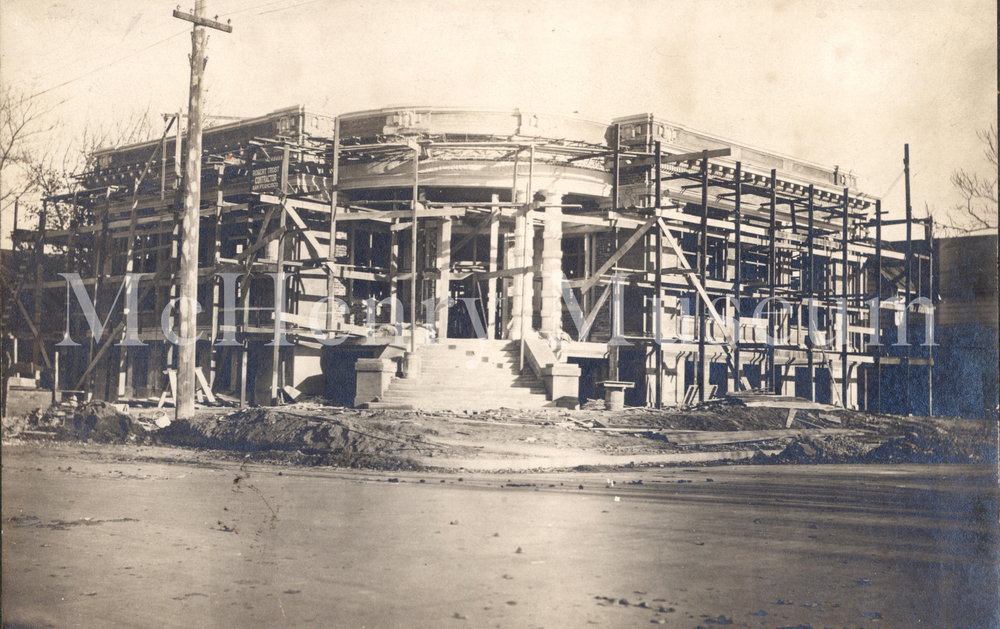 McHenry Museum under construction