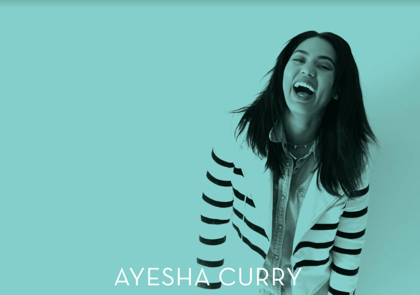 ayesha curry - brand strategy & copywriting