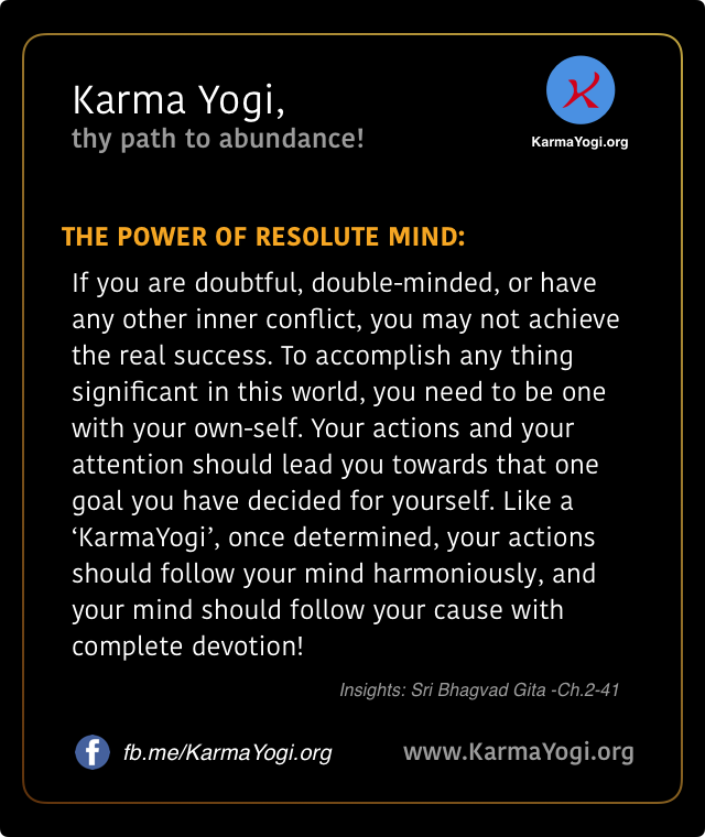 The Power of the Resolute Mind