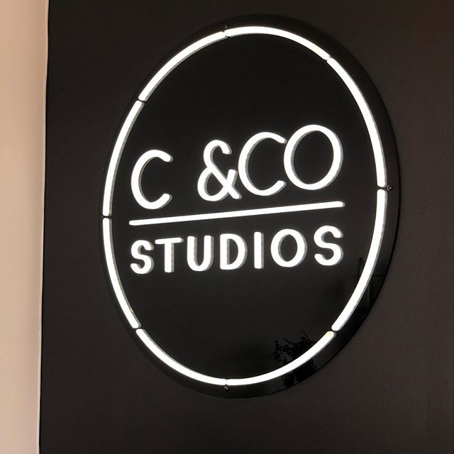 The epic @candcostudios neon we designed 💁🏻‍♂️