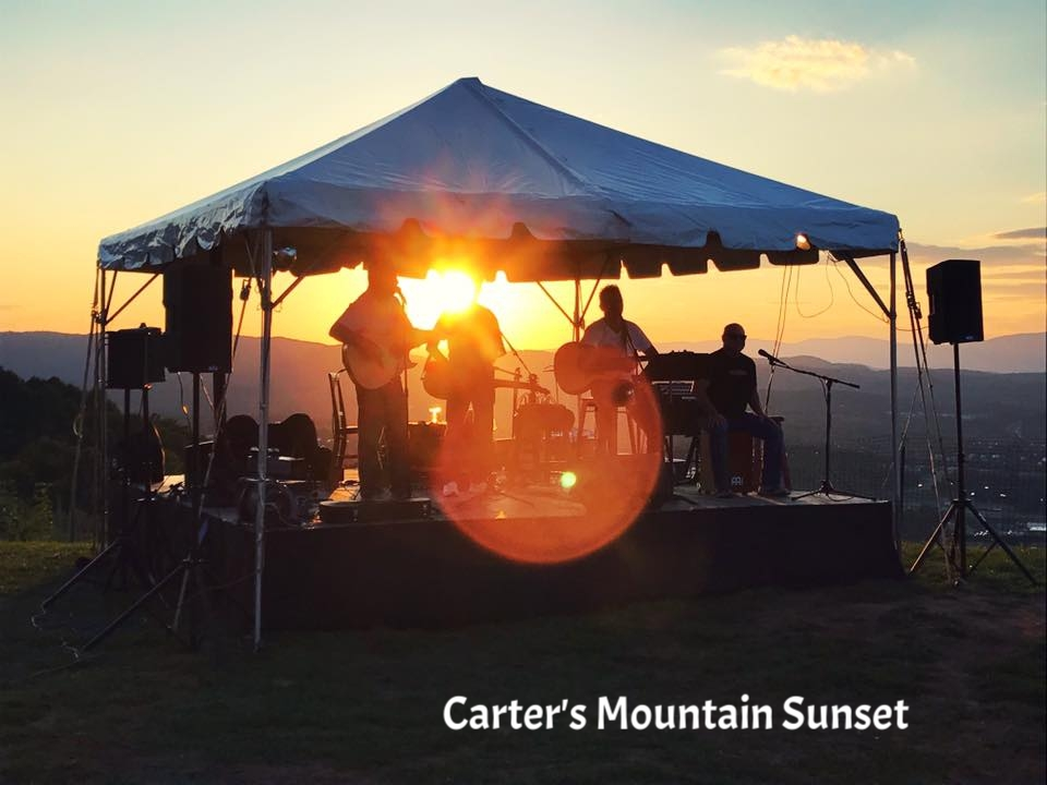 Bold Rock Carter's Mountain Sunset with The JackWagons.jpg