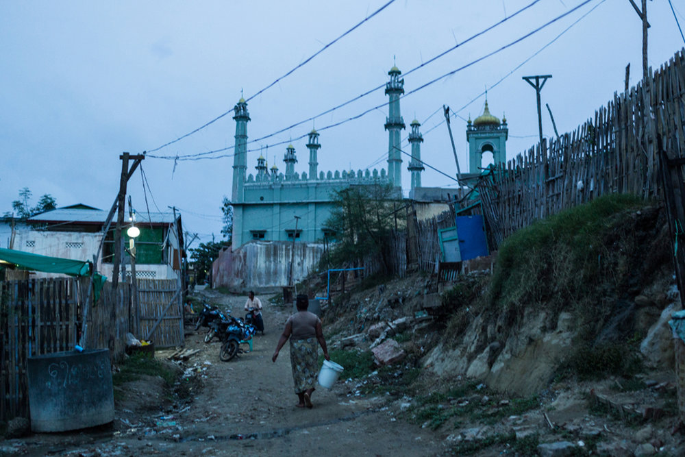Oct. 31, 2015 - Meiktila, Myanmar. More than two years after the Buddhist and Muslim riots in Meiktila, much of the areas that were destroyed are still to be rehabilitated. © Nicolas Axelrod / Ruom