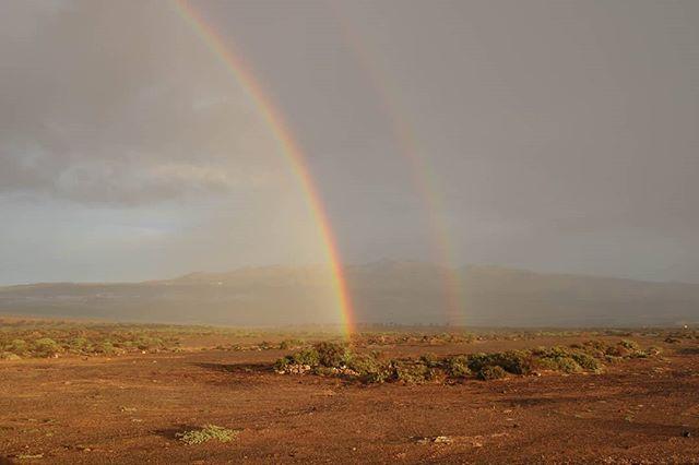 🌈 . . . #rainbow #twins #tenerife #islascanarias #tenerifetag #visittenerife #discoverearth #beautifulplanet #makemoments #explore #adventure