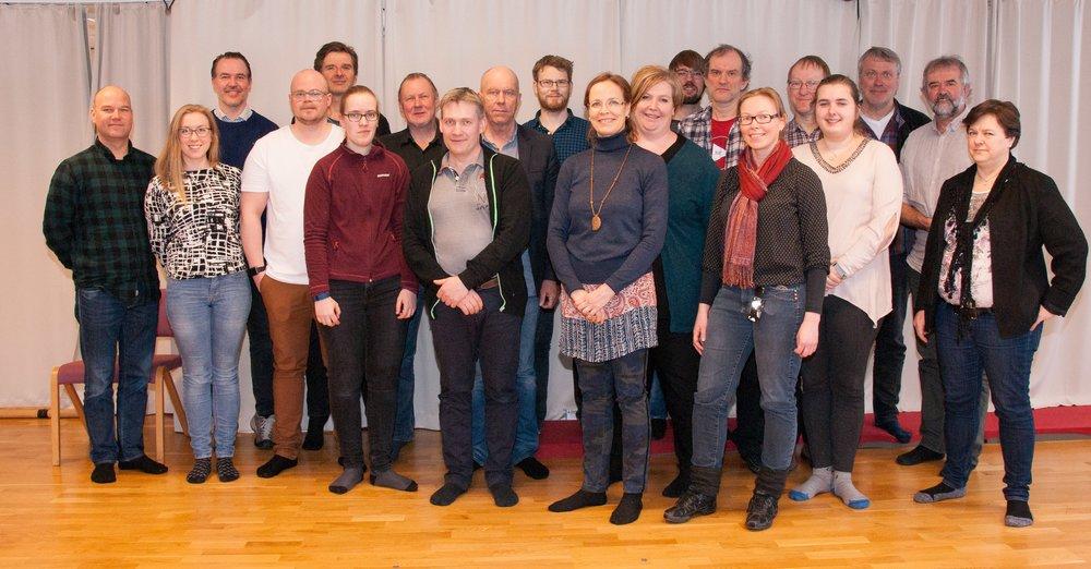 I år deltok det totalt rundt 20 interesserte arkivarere på seminar! Foto: Odd Roger Langørgen