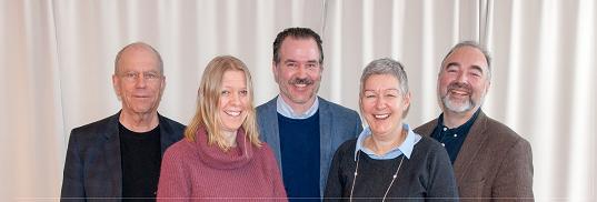 Fra venstre:Tellef Kvifte,Ida Habbestad,Ole Aastad Bråten,Kjærsti Gangsø og Johan Einar Bjerkem