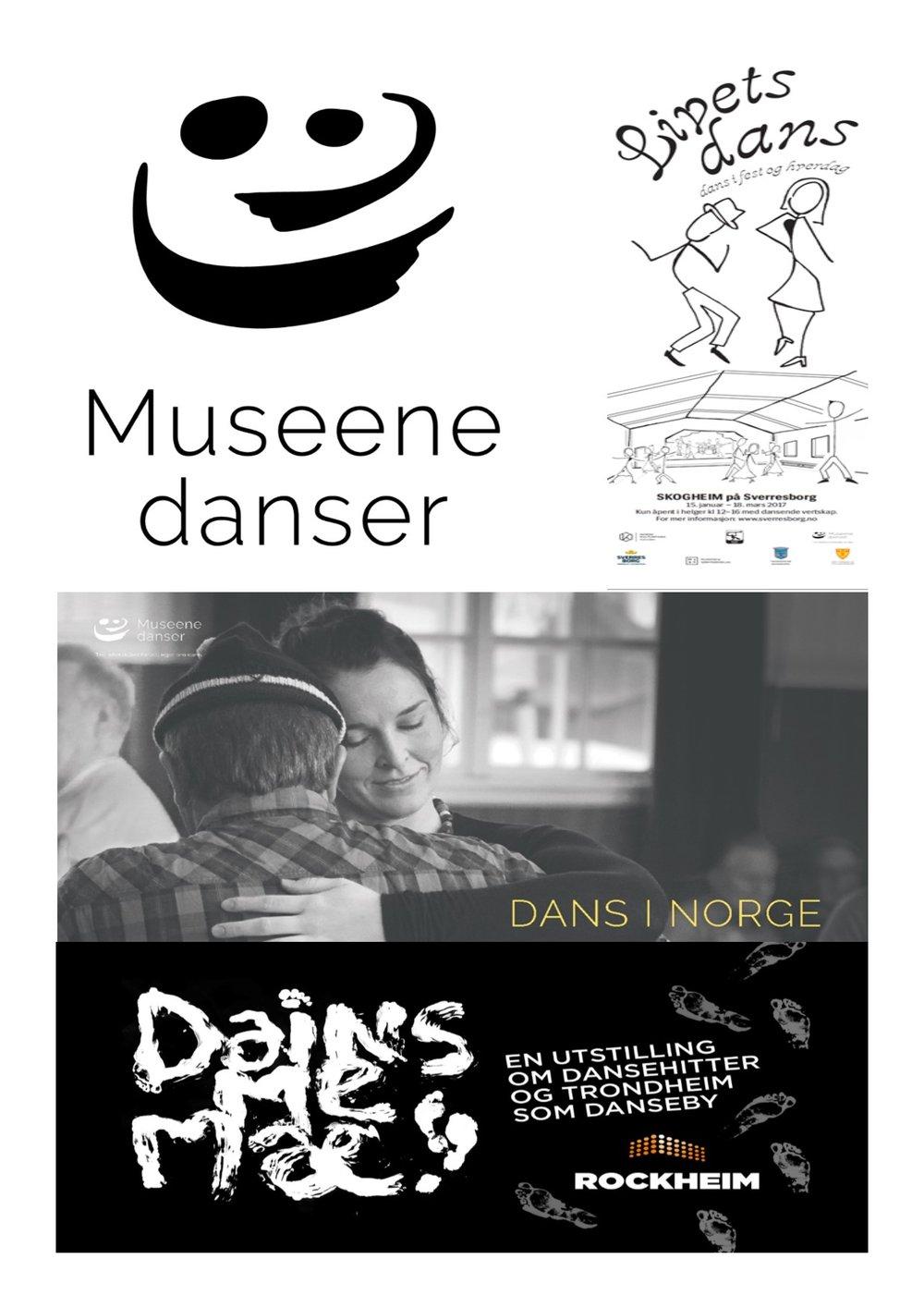 Tre utstillinger blir til én! Museene danser går nasjonalt, og starter sin vandring under Førdefestivalen i juli 2018!