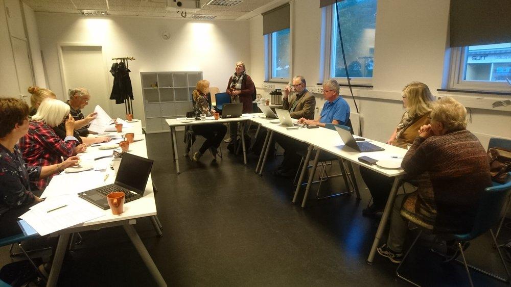 Stiftere og observatører diskuterte viktigheten av at samlinga tilgjengeliggjøres for brukere (Sff, 2018)