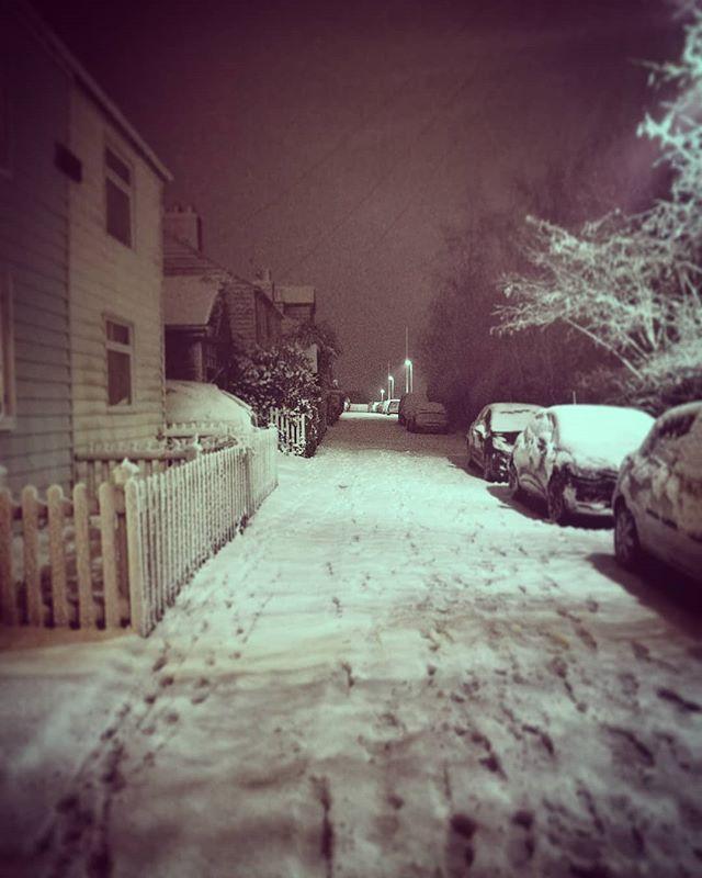 Snowy Isle! 🌨️❄️☃️