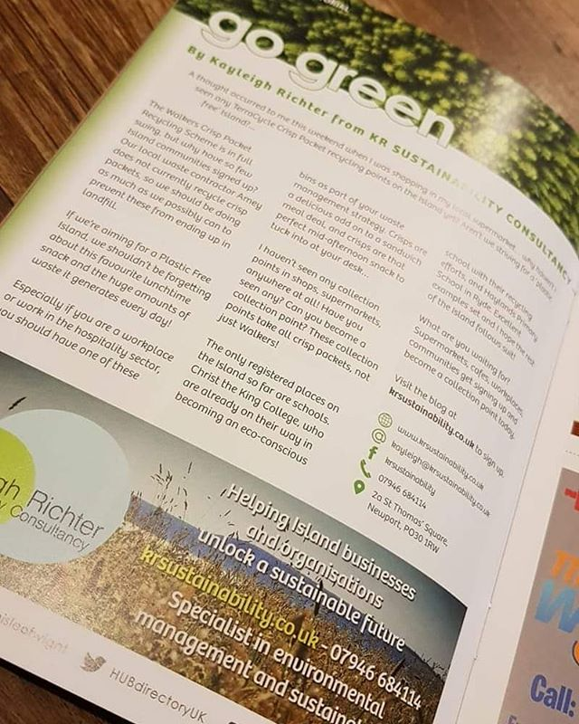 Check this out!! We're in the 2nd issue of the Local Directory Magazine this month!! 😍💚 Pick up your copy soon and read our 'Go Green editorial' 💚✅♻️