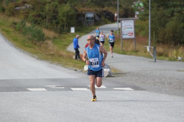 Fjordviking - 3 løp på 3 dagar - Stubbs Leigh(477) her på 10km, var ein av dei ca 80 som fullførte i 2017