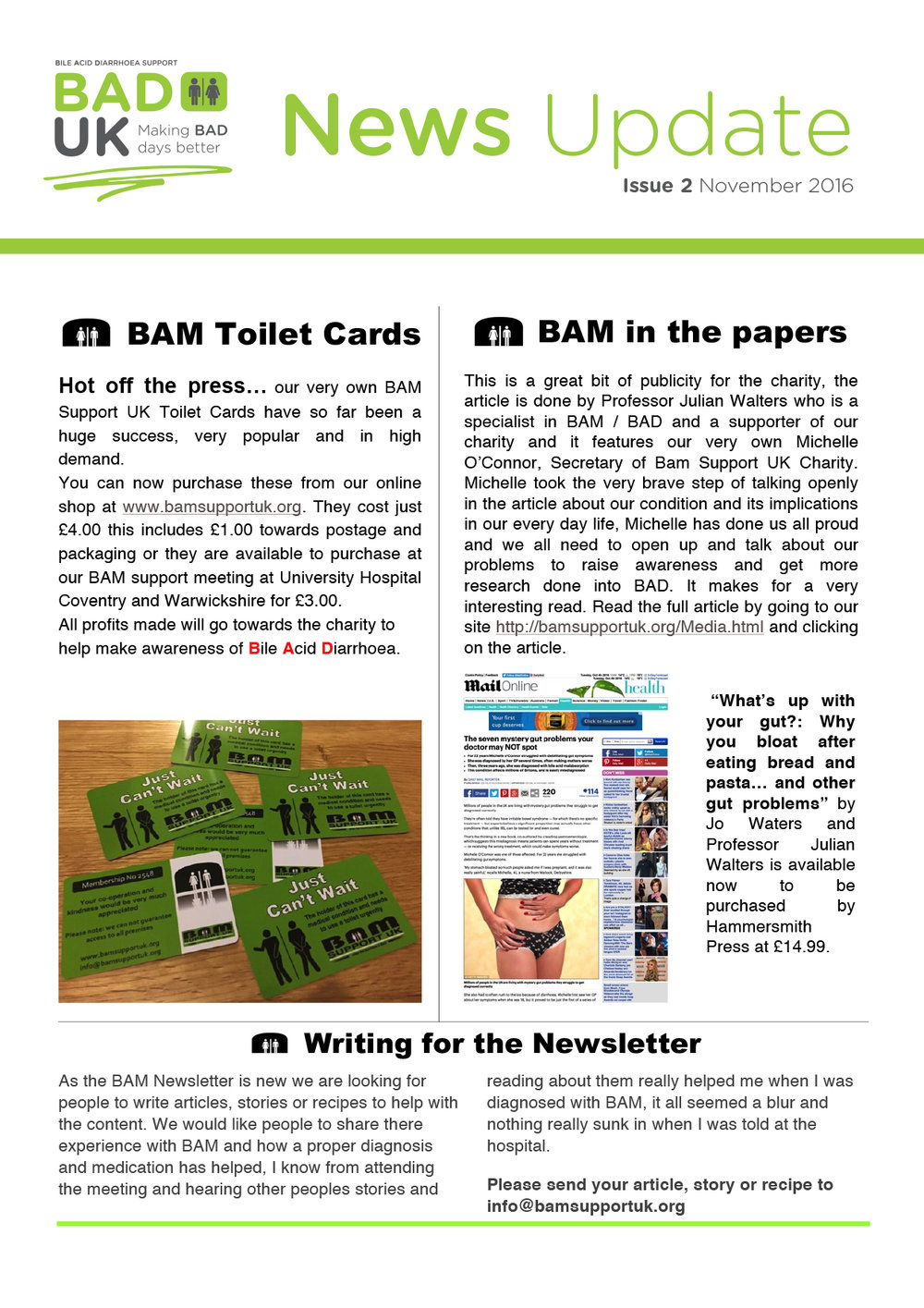 Newsletters  Bad Uk