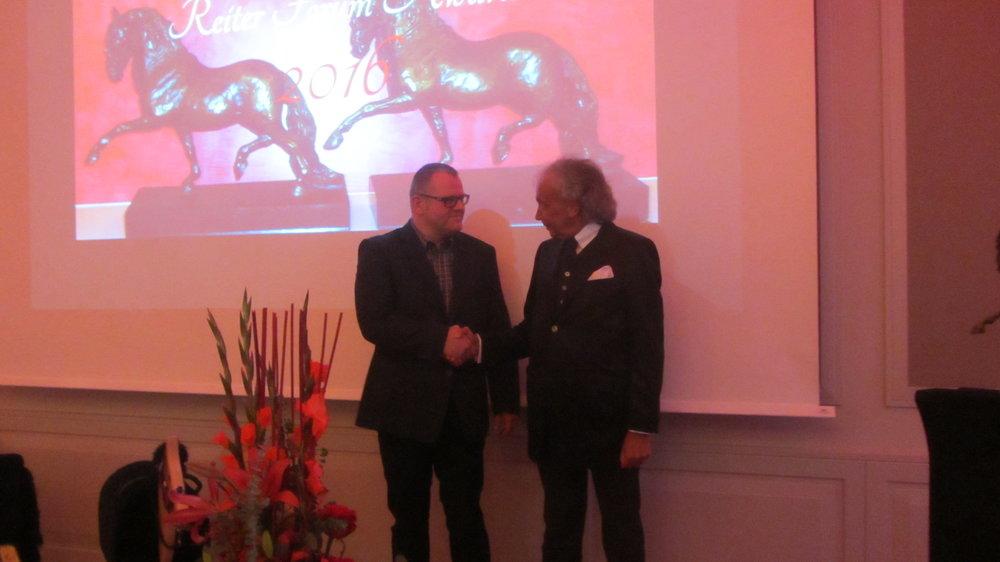 Markus Raabe (links) und Frank Henning