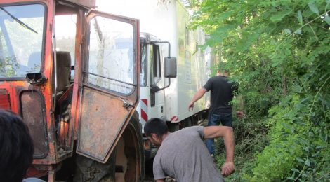 Juni 2014 in Nordostrumänien 10 km vor der ukrainischen Grenze