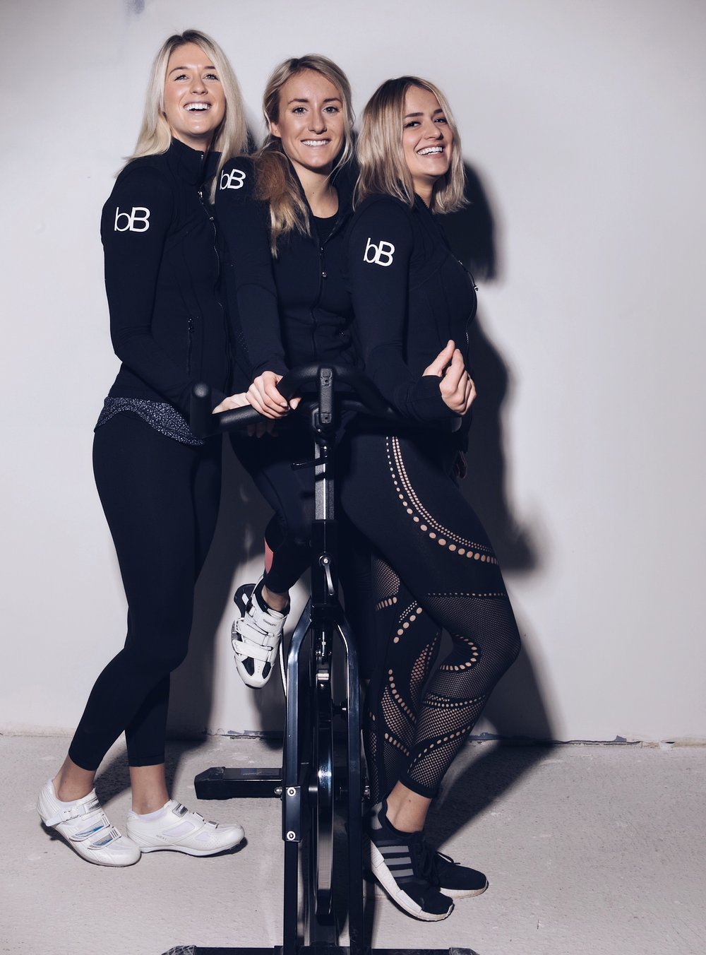 "Our story - The three of us (Maxi, Lena & Chiara) met during our sports management course at university. Whilst doing a semester in California in 2013 we came across indoor cycling and the idea of opening our own studio someday was born. After spending four months in the US and cycling like three maniacs, we decided ""we're bringing this to Germany"". Five years have passed since then and we are finally very proud owners of our own studio. It wasn't easy to get here but we kept on fighting for our dream. We are super psyched to be able to share our passion with you at last. Come join us and see what the fuss is all about. You won't regret it."
