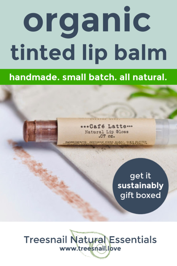Cafe Latte Brown Tinted Lip Balm with Essential Oils for the Green Beauty Lover by Treesnail Natural Essentials.jpg