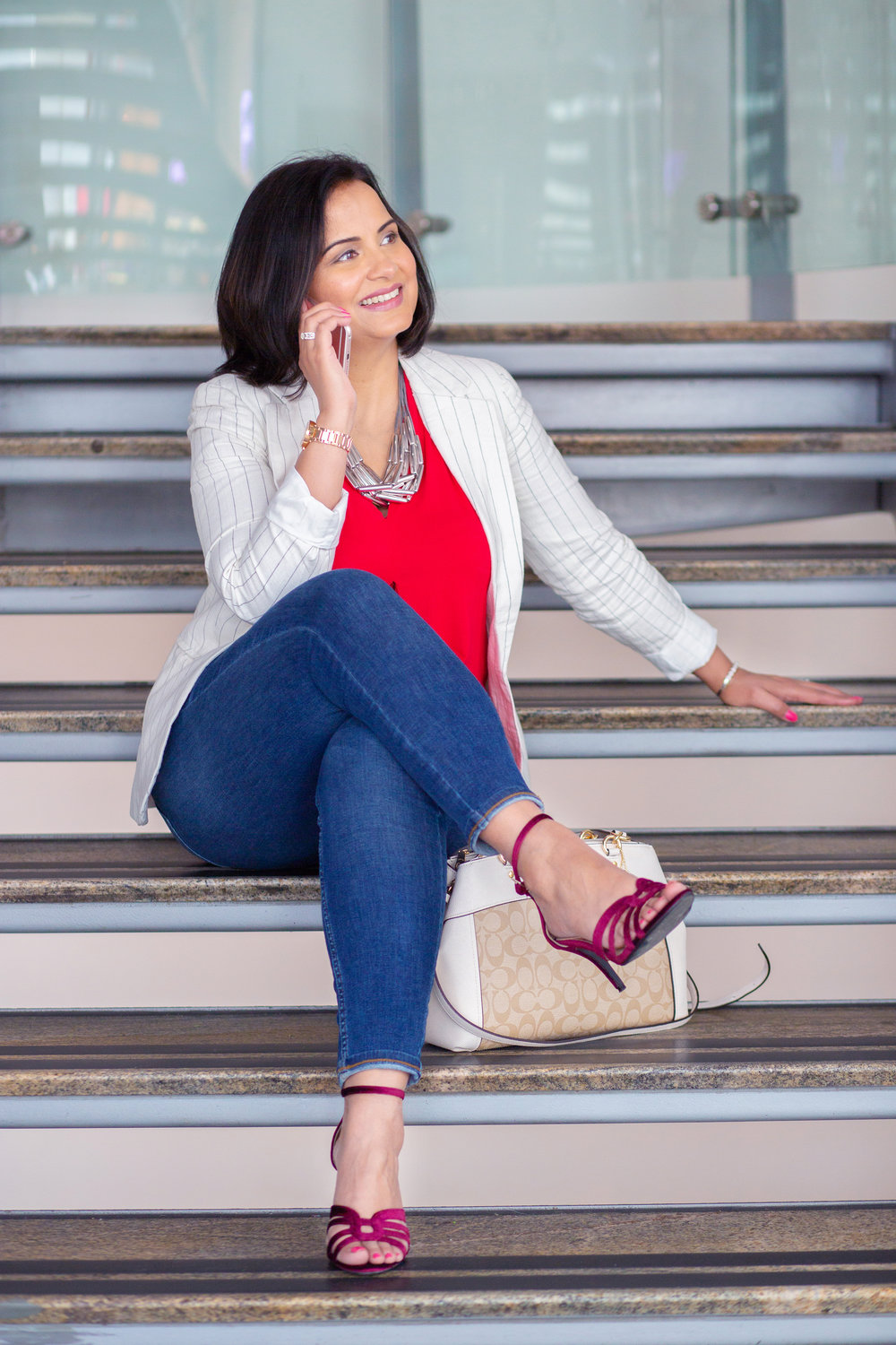Business Coach, Suman, on a Personal Branding Shoot with us.