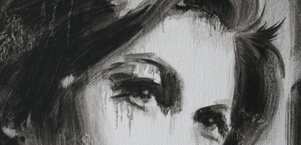 Doreen (Saturday Night and Sunday Morning) , (detail), 2014, oil on canvas, 30x25cm
