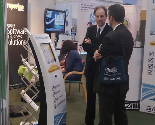 At eHealth Week 2013 Dublin, Philip Deane of Grapevine Solutions discusses Self-Service Kiosks