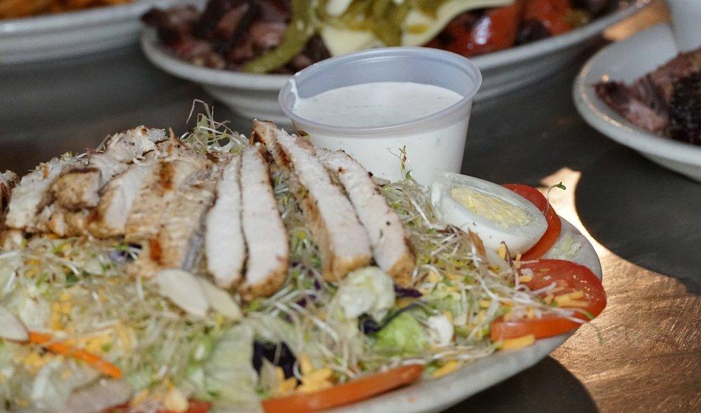 rib hut El Paso salad