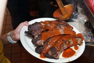 rib hut El Paso bbq sauce