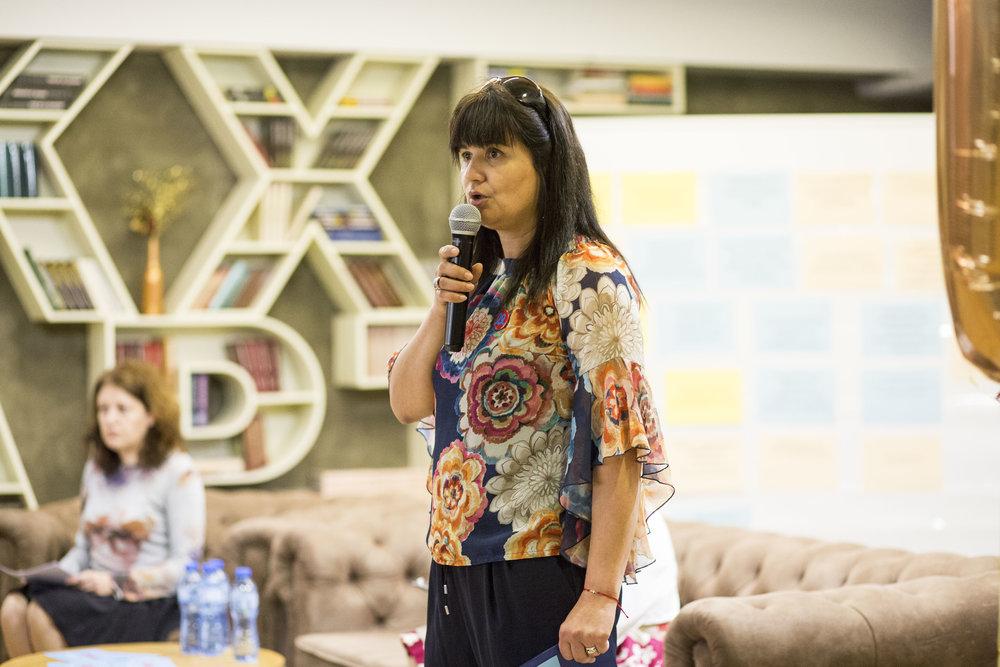 Кремена Стоянова - председател на Инициативния комитет.