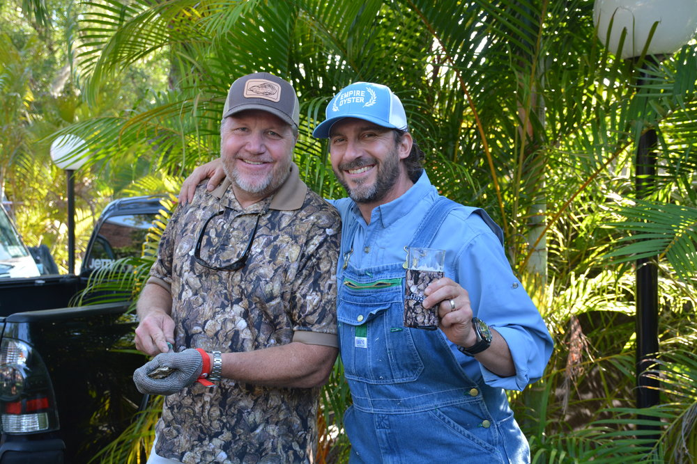 Bart Key and Kevin Joseph - Oysters Unlimited.JPG