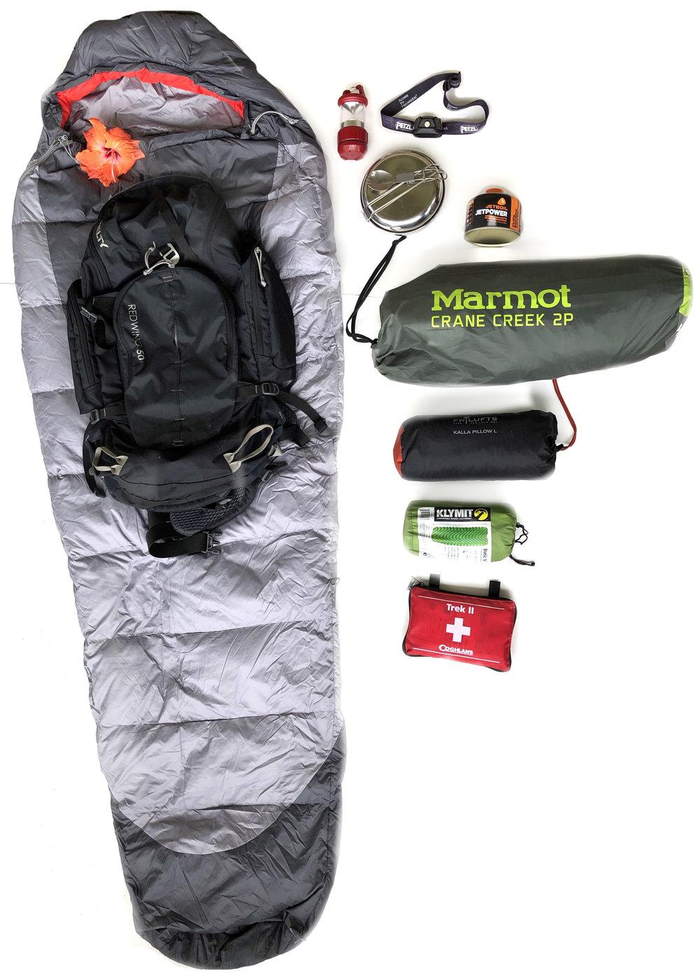 Backpacking Kit