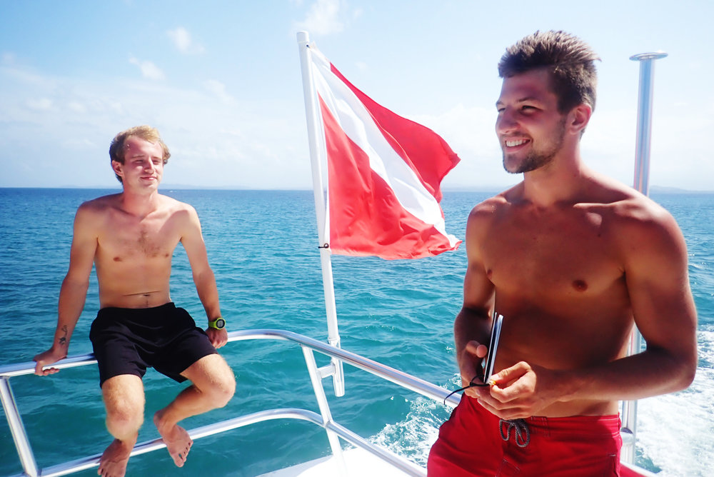 Kick of your professional career with our world-renowned Divemaster course