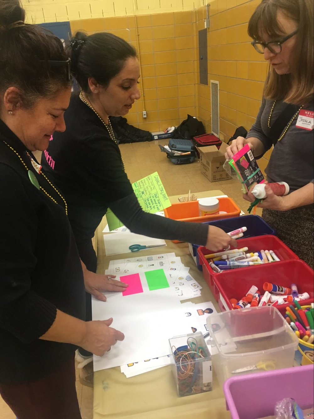 At the Innovation Summit, teachers were able to engage with rapid, interactive prototyping activities to build an idea they've been thinking about and get tangible quickly.
