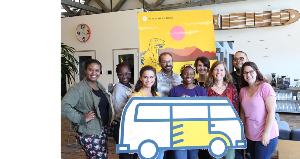 THE teachers guild - Launching Local Guild chapters and a national Fellowship for teachers focused on using human-centered design to advance teacher-led innovation.