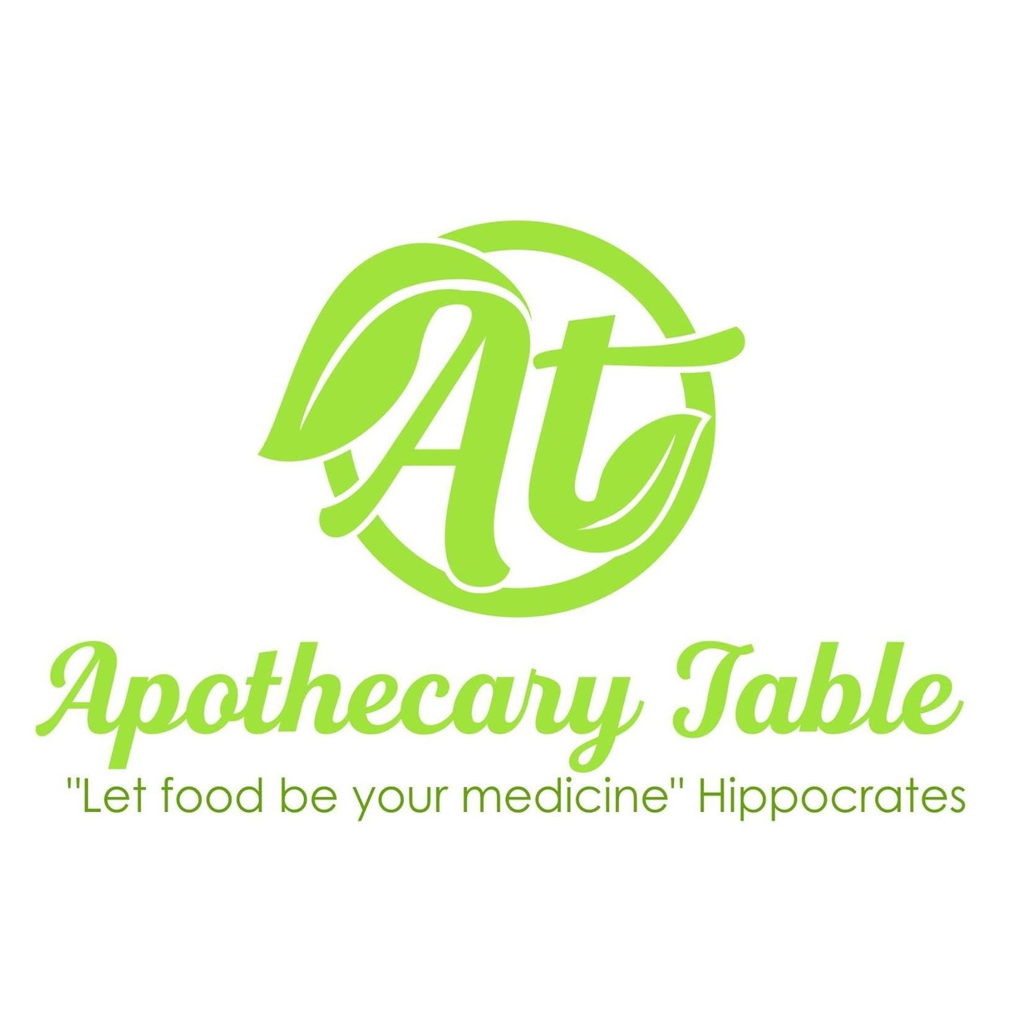 The Apothecary Table