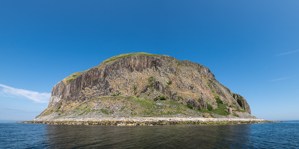 Ailsa Craig, Firth of Clyde, panoramic image, June 2018