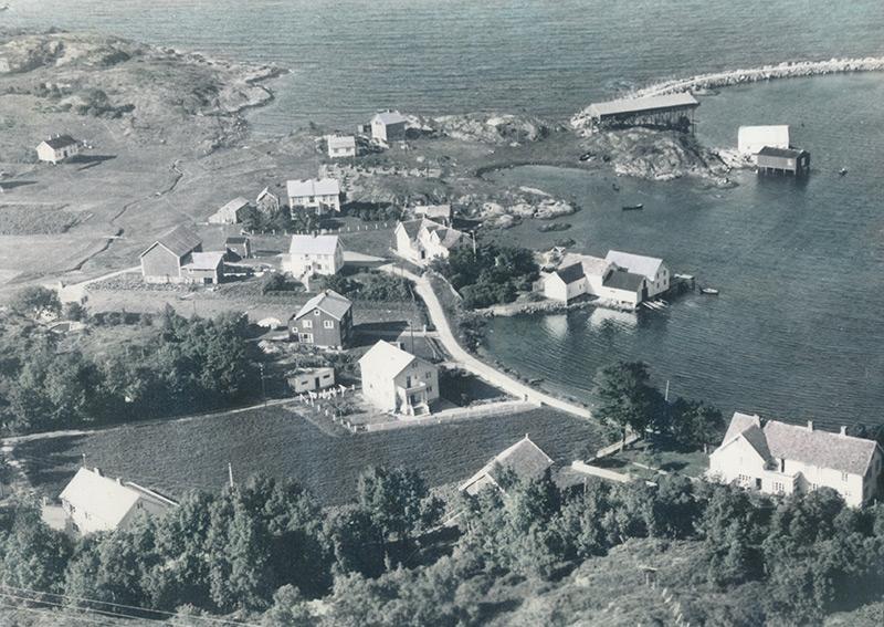 Børøysundet i gamle dager