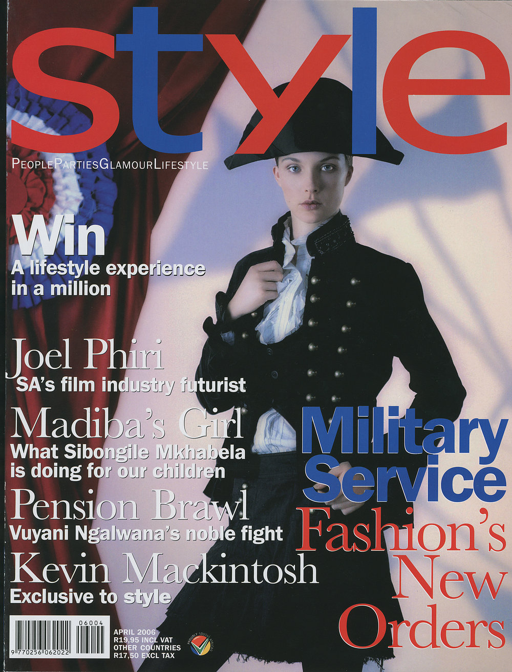 STYLE MAGAZINE APRIL 2006
