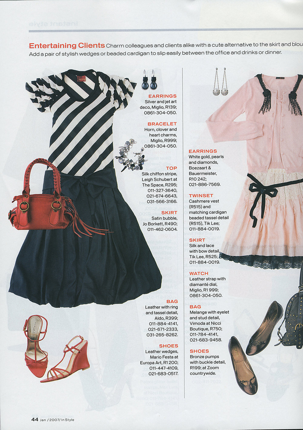 INSTYLE JAN 2007