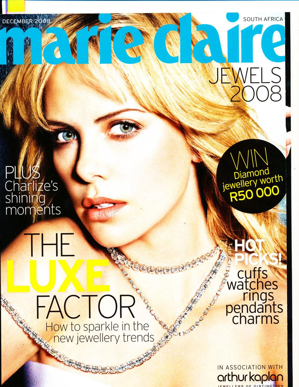MARIE CLAIRE DEC 2008