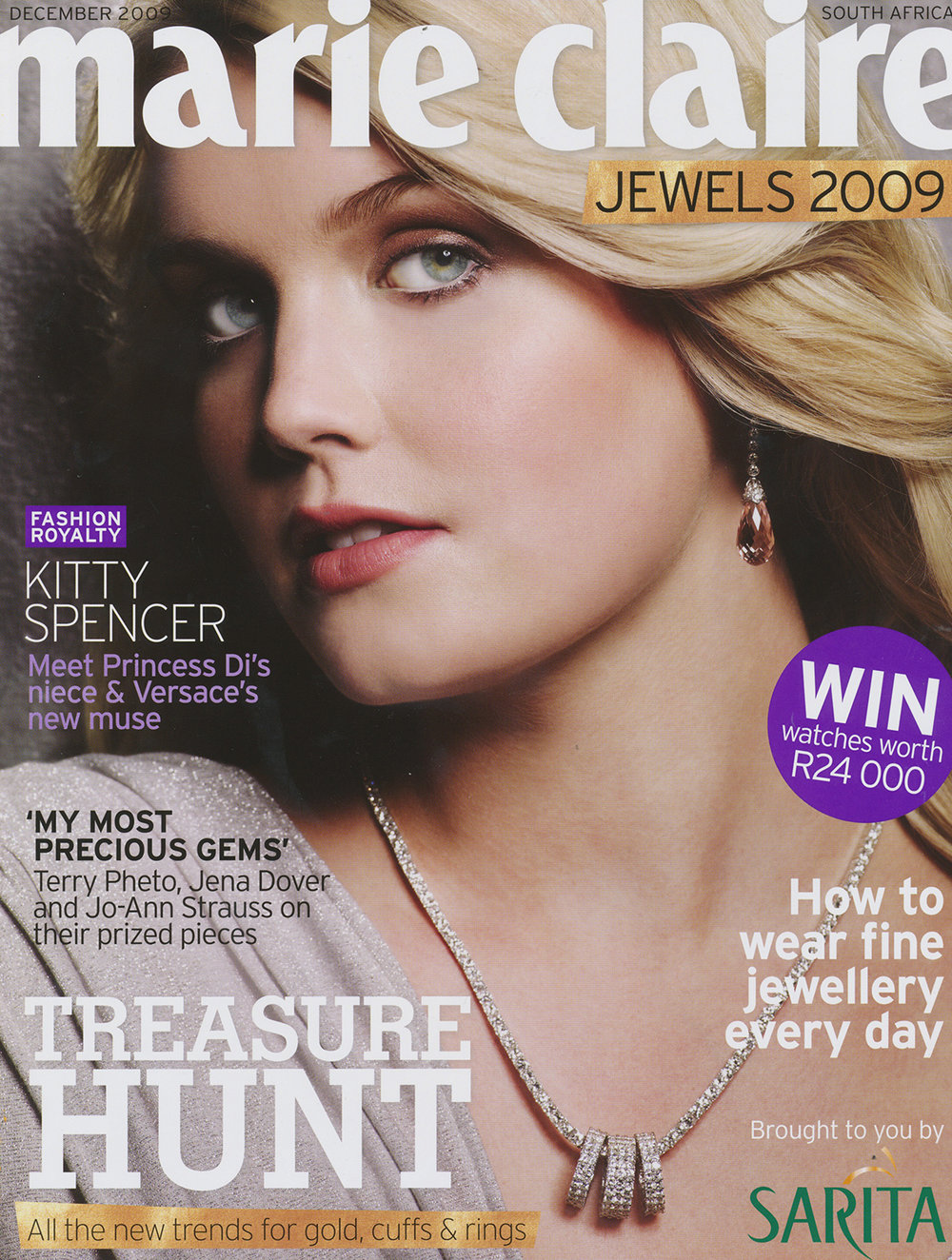 MARIE CLAIRE JEWELS DEC 2009