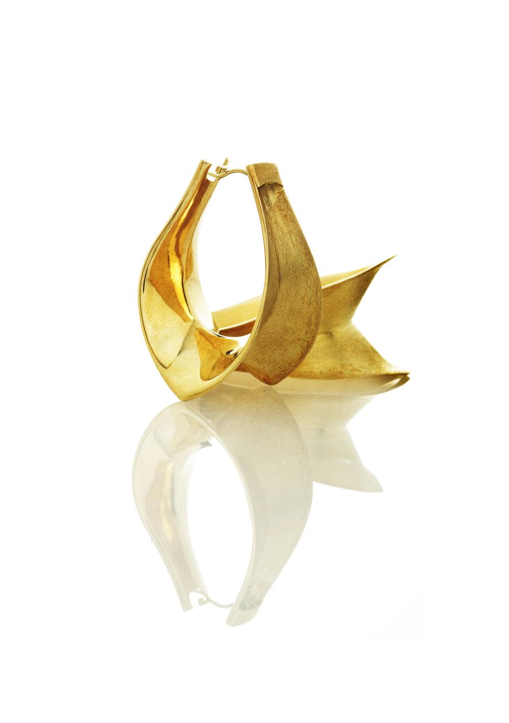vertebral earrings